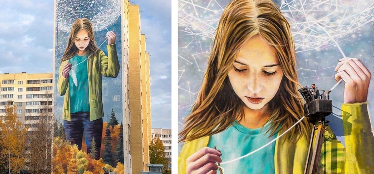 Как выглядит лучший мурал месяца в мире, который нарисовал белорусский художник