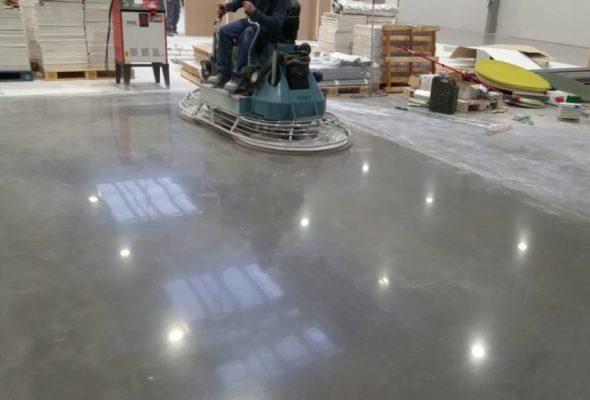 Что такое топпинг для бетонного пола?