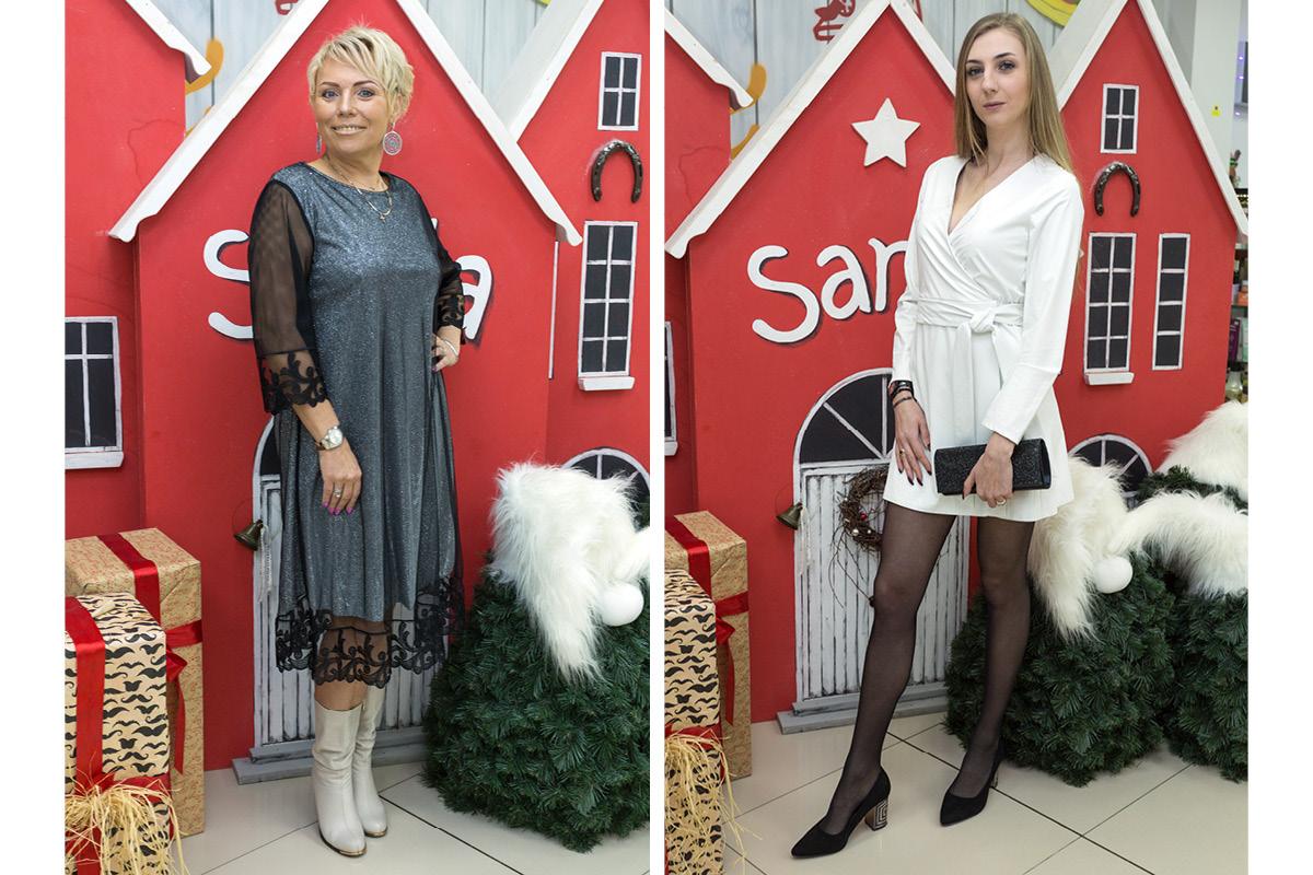 Модели: Светлана Пужель (слева) и Лиза Курченкова. Все фото: Александр ЧЕРНЫЙ