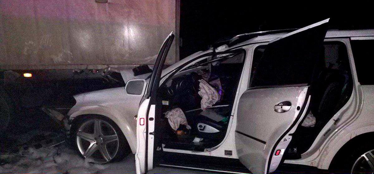 Страшная авария на трассе М1. Погибли две девушки