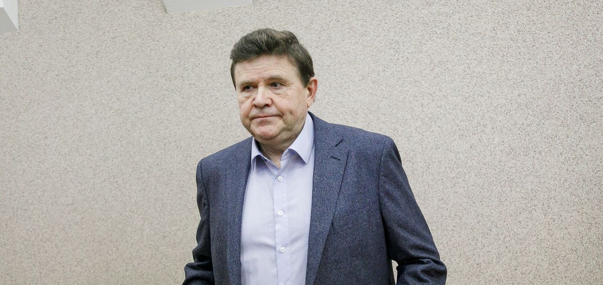 Александр Белецкий во время суда в феврале 2019 года. Фото: Ольга ШУКАЙЛО, TUT.BY