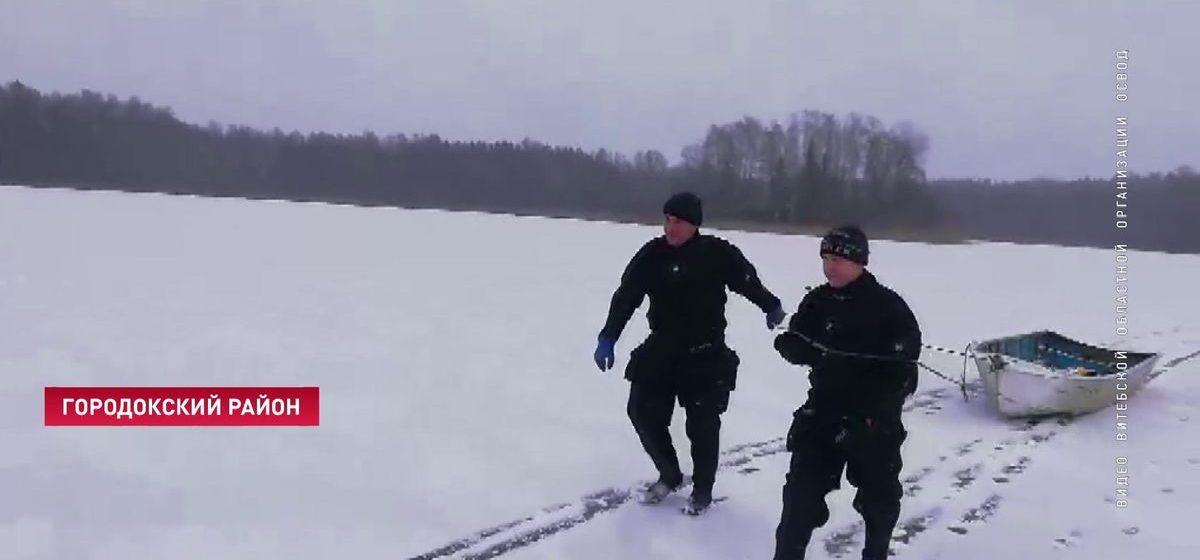 Два рыбака утонули в Витебской области