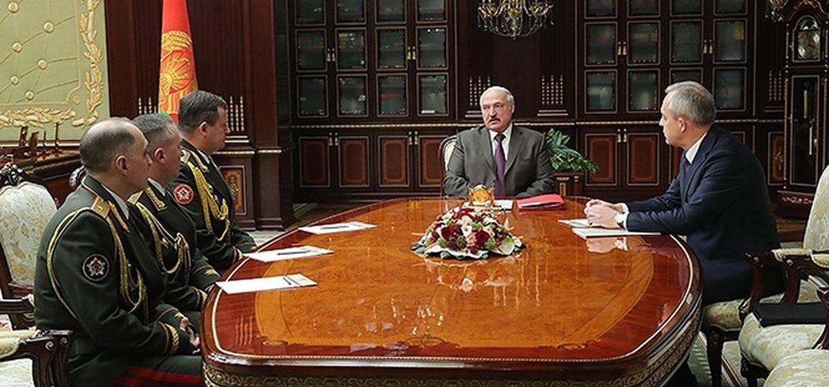 Лукашенко назначил нового министра обороны, начальника Генштаба и госсекретаря Совета безопасности