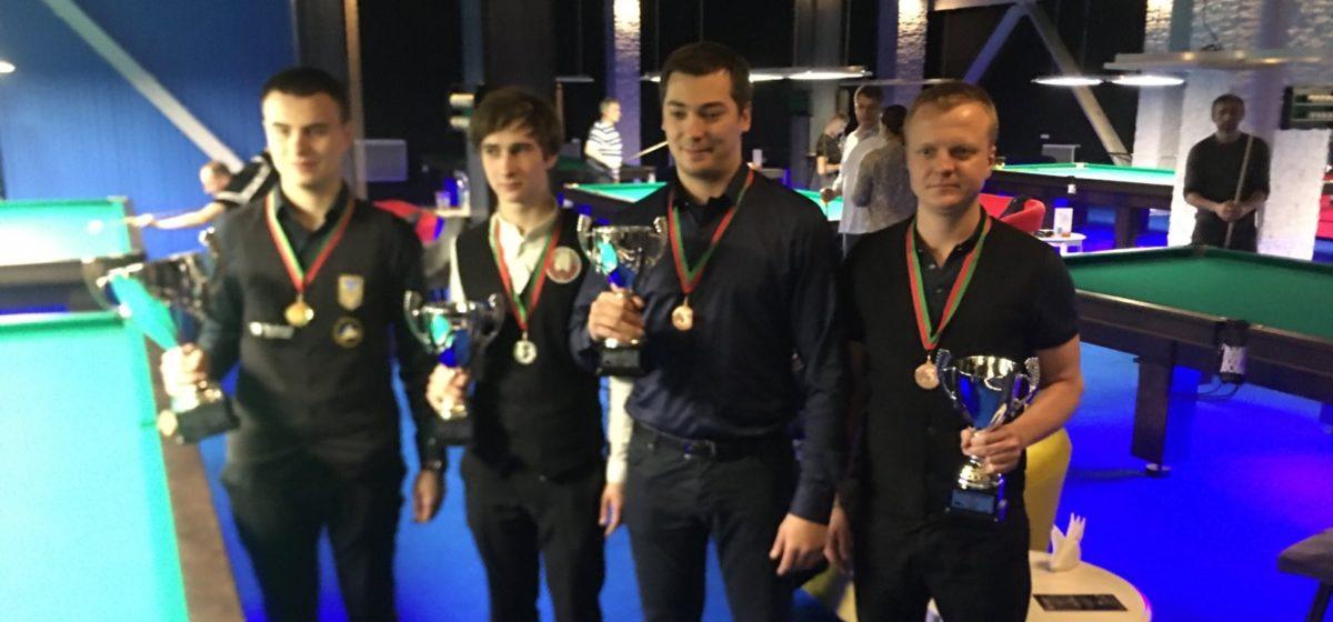 Бильярдист из Барановичей стал призером международного турнира