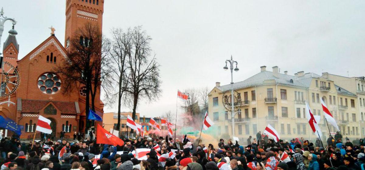 В Минске возобновились суды над участниками акций против интеграции с РФ
