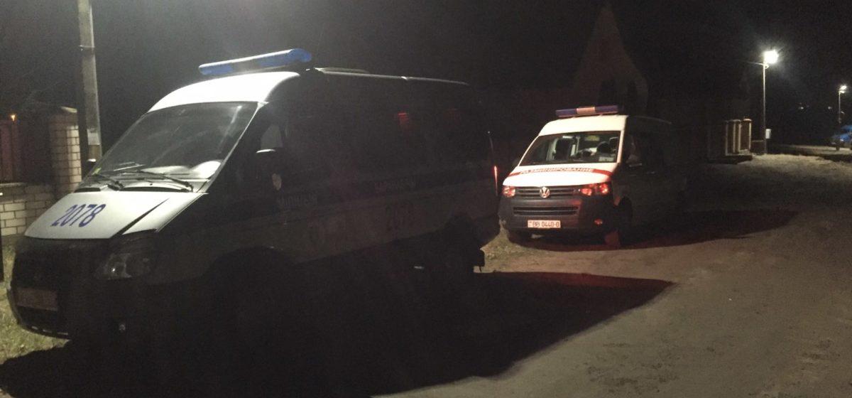 В Барановичах от взрыва неизвестного предмета пострадали трое человек, одному из них оторвало ноги