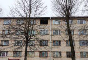 «Серега, помогай вытащить человека!». Подробности пожара в общежитии на улице Космонавтов в Барановичах
