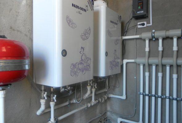Газовые котлы NAVIEN и Rinnai