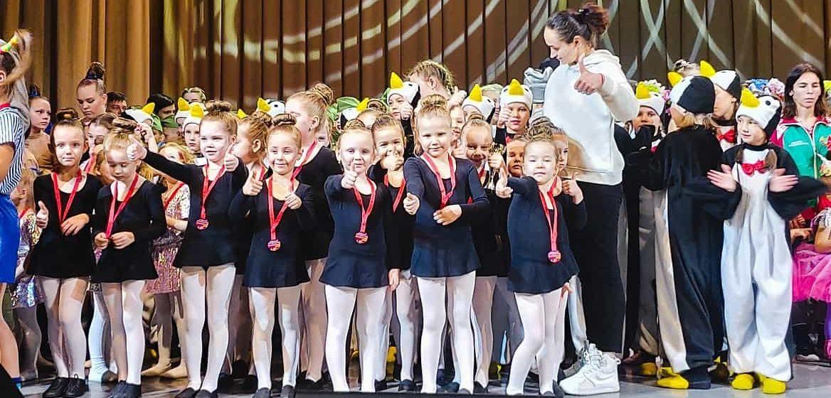 Юные барановичские танцоры завоевали призовые места на международном конкурсе в Минске