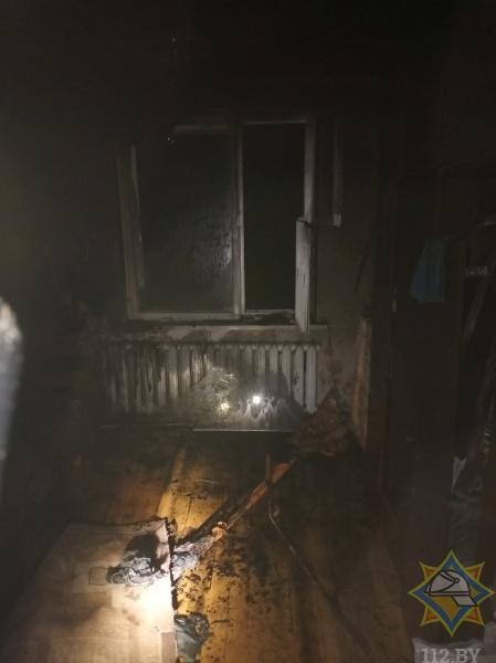 Место пожара. Фото: МЧС