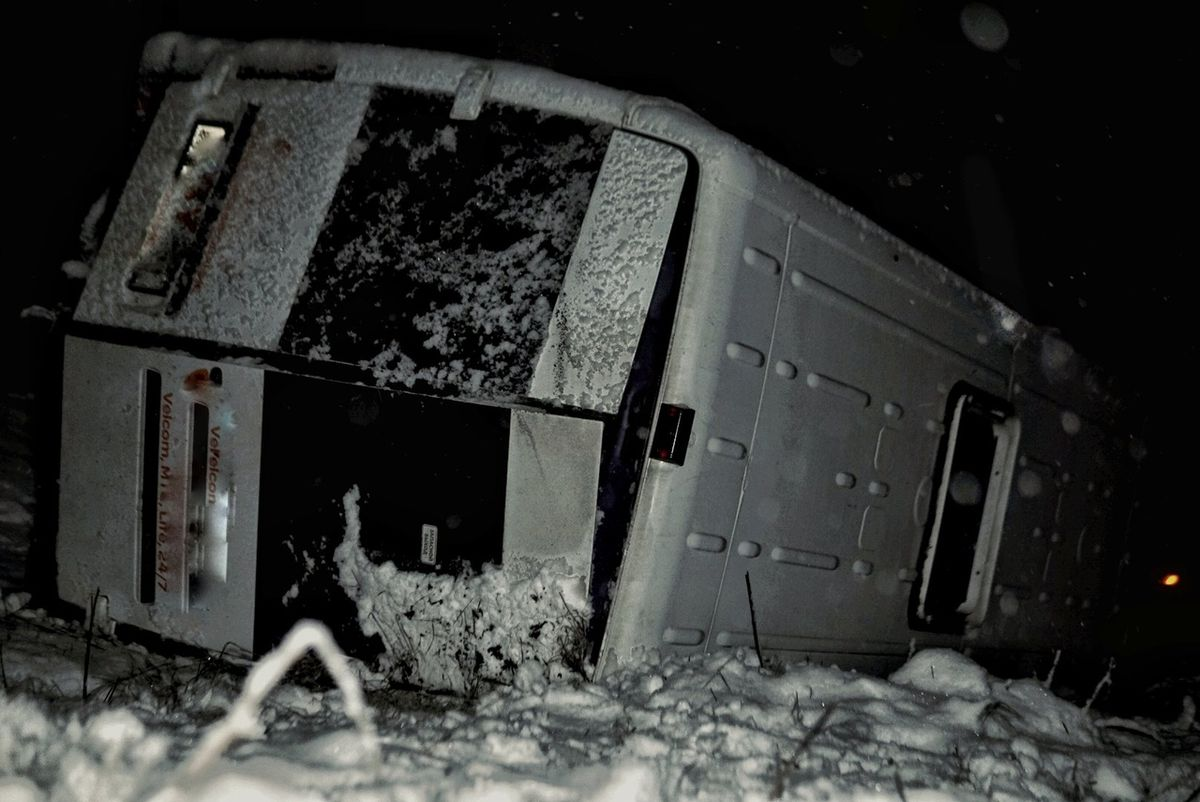 "Место ДТП. Фото: ""ВКонтакте ""РАНАК (ranak ) – Светлогорск, Беларусь"""