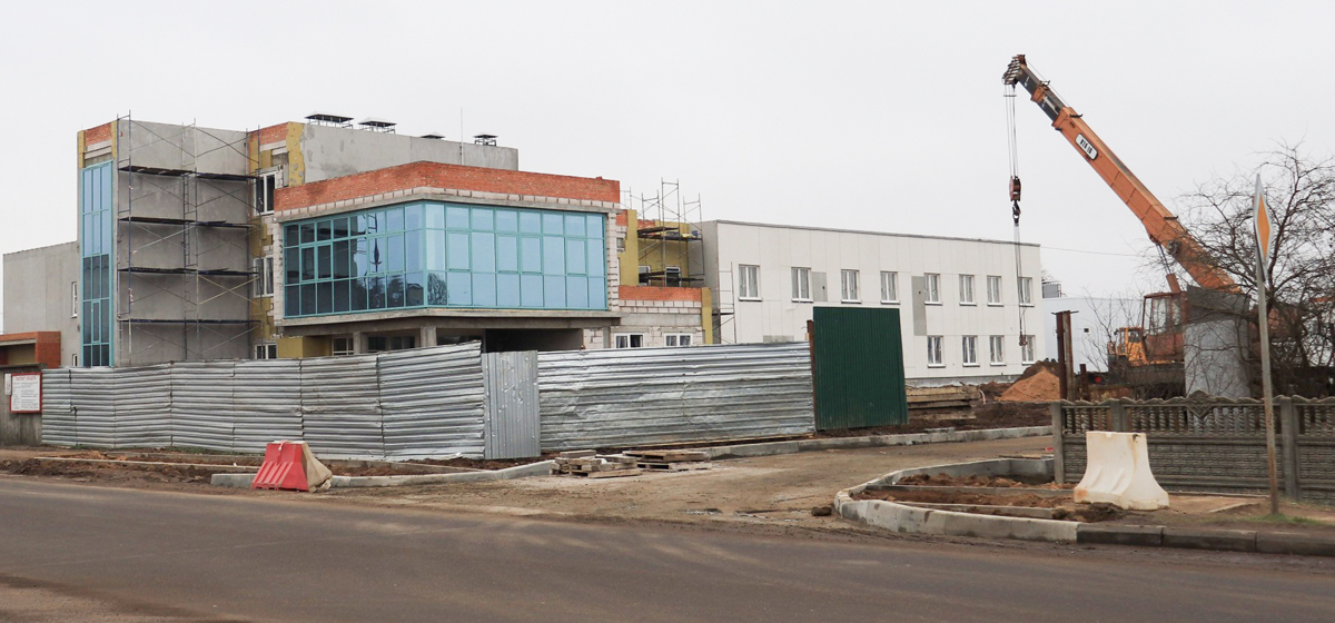 Новое здание станции скорой помощи. Фото: Андрей БОЛКО