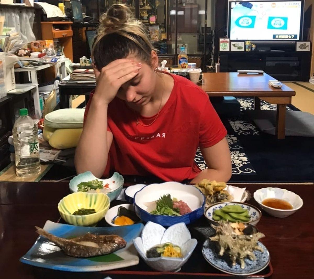 Завтрак по-японски. Фото: личный архив Алины СЕВЕЦ