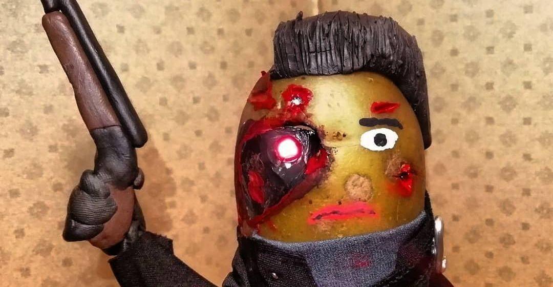 Прихожу домой, а там Фредди Меркури «засмердел». Минчанин создает из картофеля забавные фигурки знаменитостей