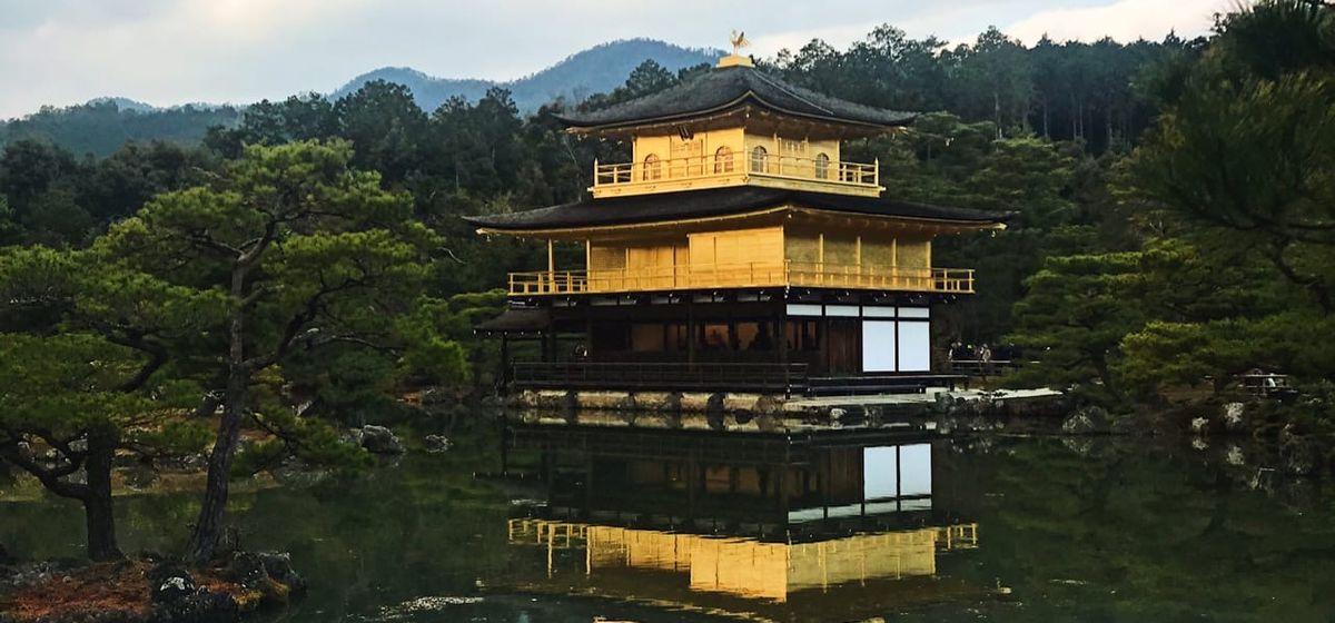 Золотой замок в Киото, Япония. Фото: личный архив Алины СЕВЕЦ