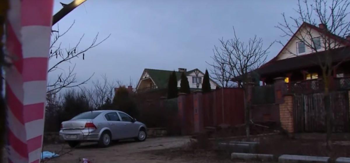ОНТ показало видео с места, где под Гродно в машине был застрелен бизнесмен