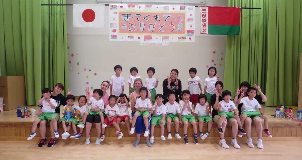 Занятие в детском саду, Япония. Фото: личный архив Алины СЕВЕЦ