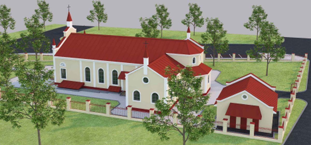 В Барановичах построят новый католический храм