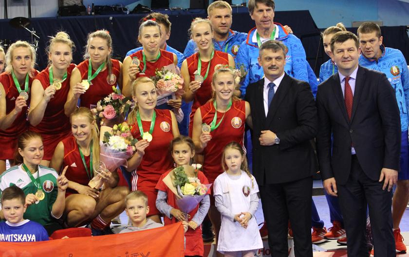Историческое достижение. Барановичская хоккеистка в составе сборной Беларуси стала чемпионкой Европы