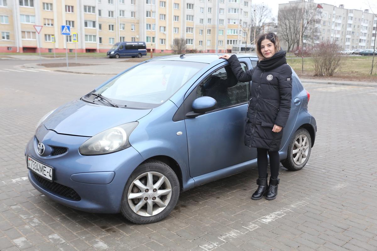 Татьяна Доменикан – владелица автомобиля Toyota Aygo  2008 года выпуска.  Фото: Александр ЧЕРНЫЙ