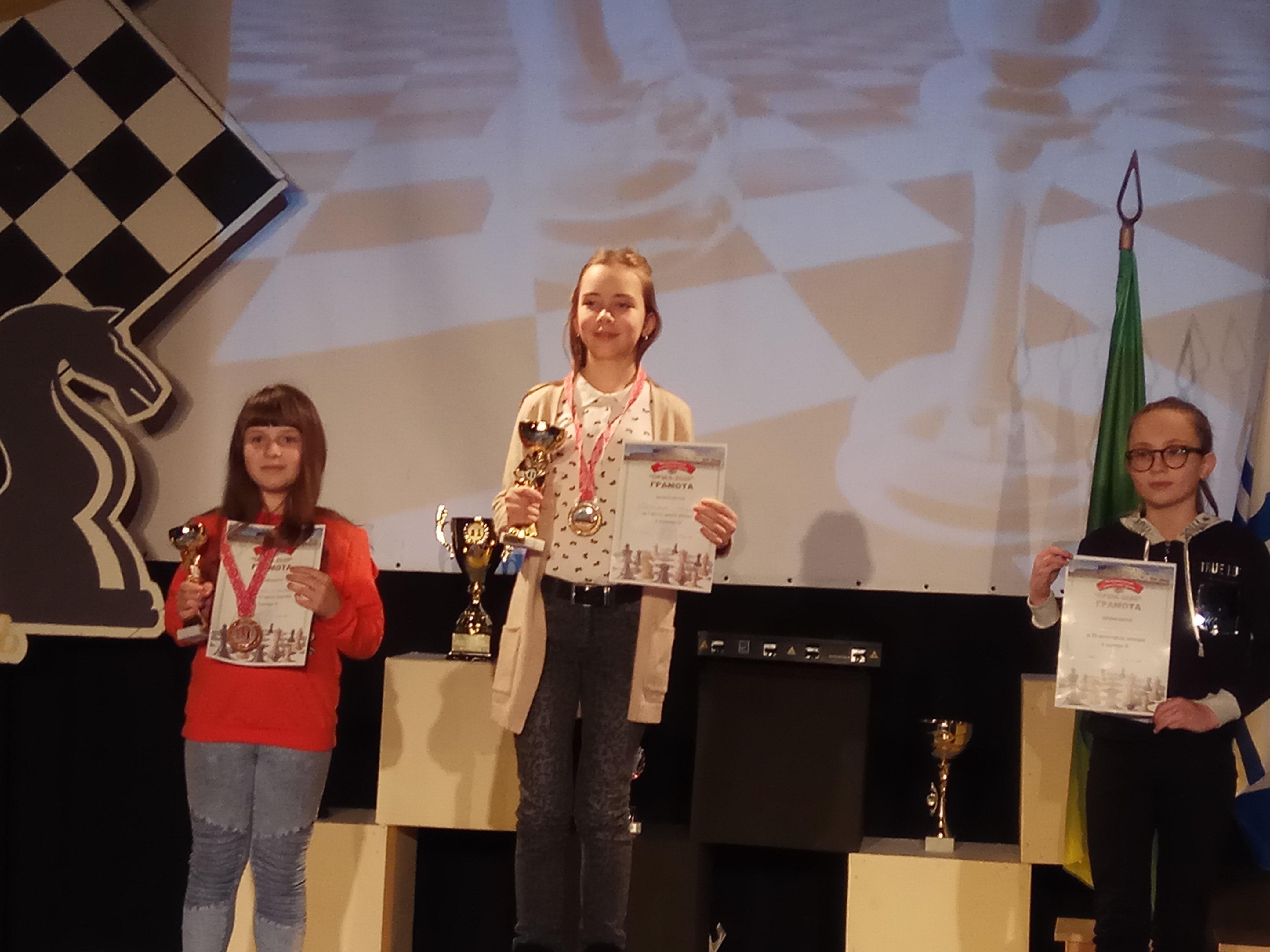 Милена Сидореня (2-е место). Фото: архив Александра СИДОРЕНИ