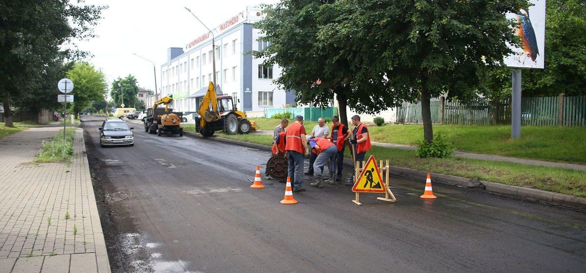 Сколько километров дорог отремонтируют в Барановичах в 2020 году