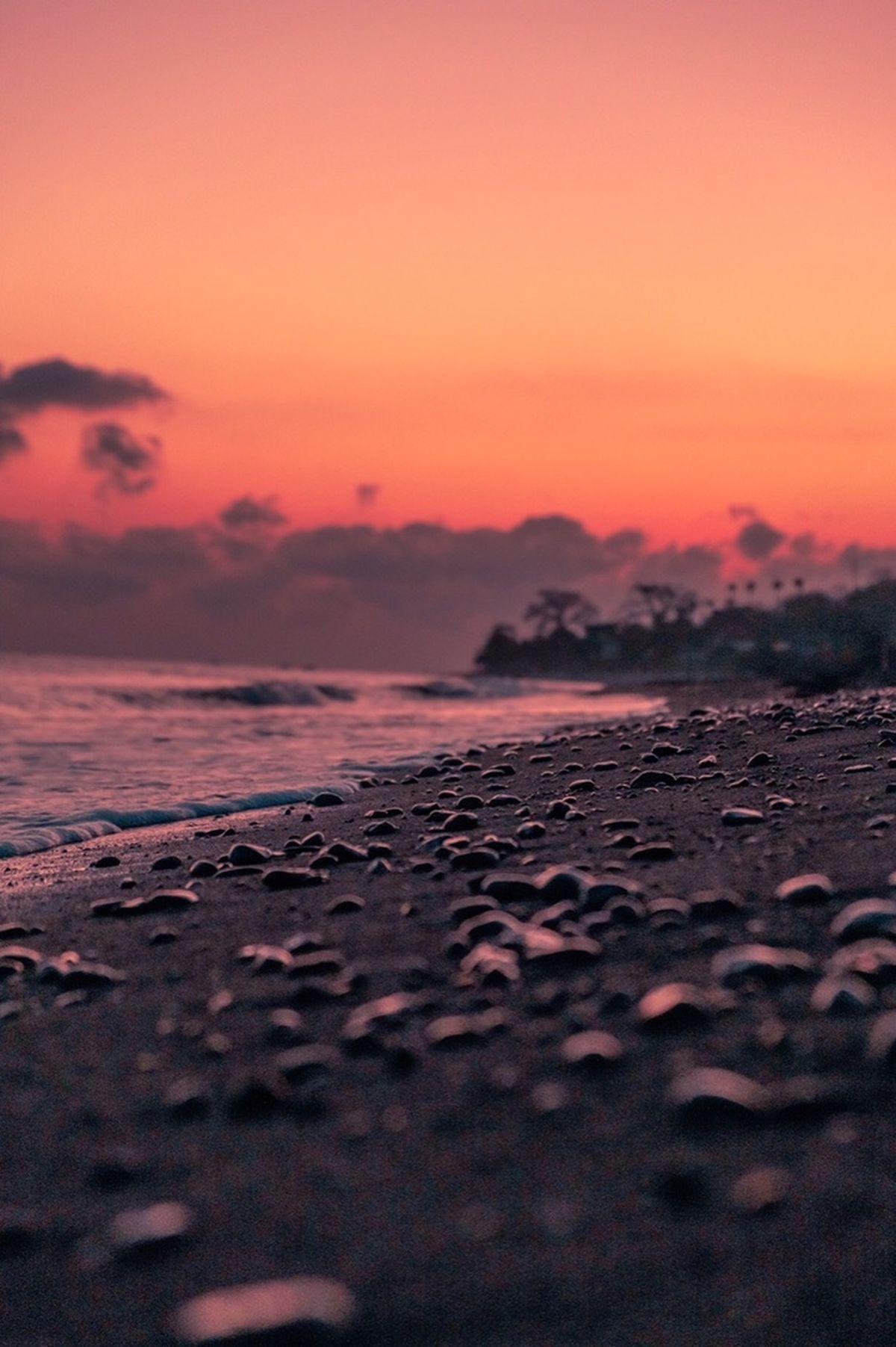 Пляж Black Sand Beach. Пляж на востоке Бали, Паданг Бай. Фото: архив Максима БУЛАША