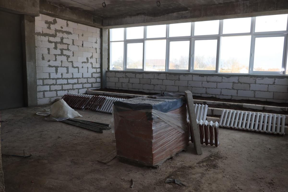 Помещение будущего конференц-зала. Фото: Андрей БОЛКО