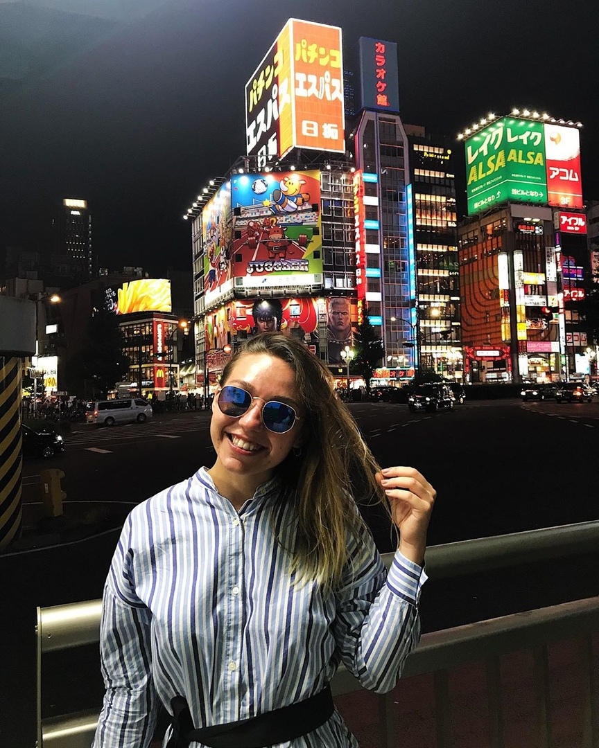 Токио, Япония. Фото: личный архив Алины СЕВЕЦ