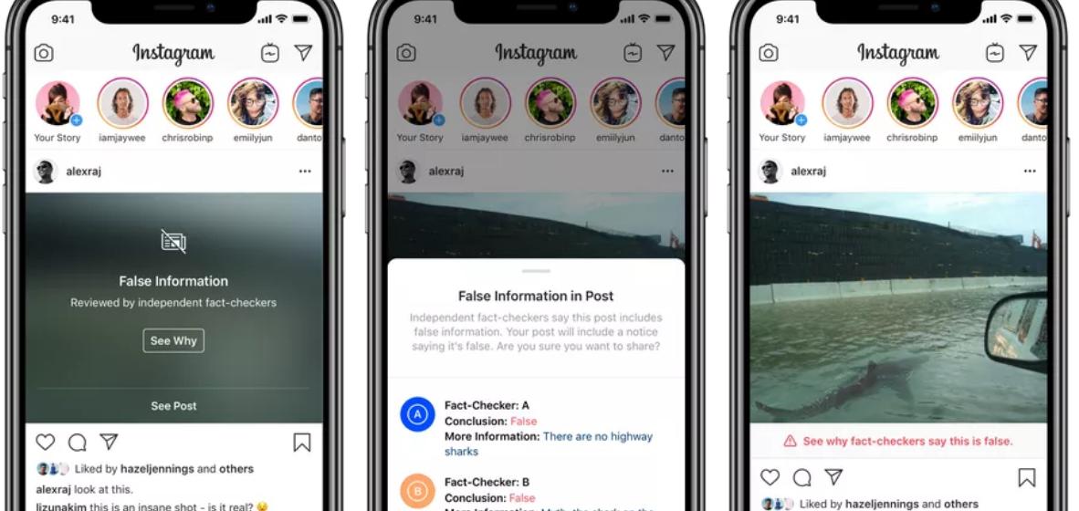 Instagram начал борьбу с «отфотошопленными» изображениями