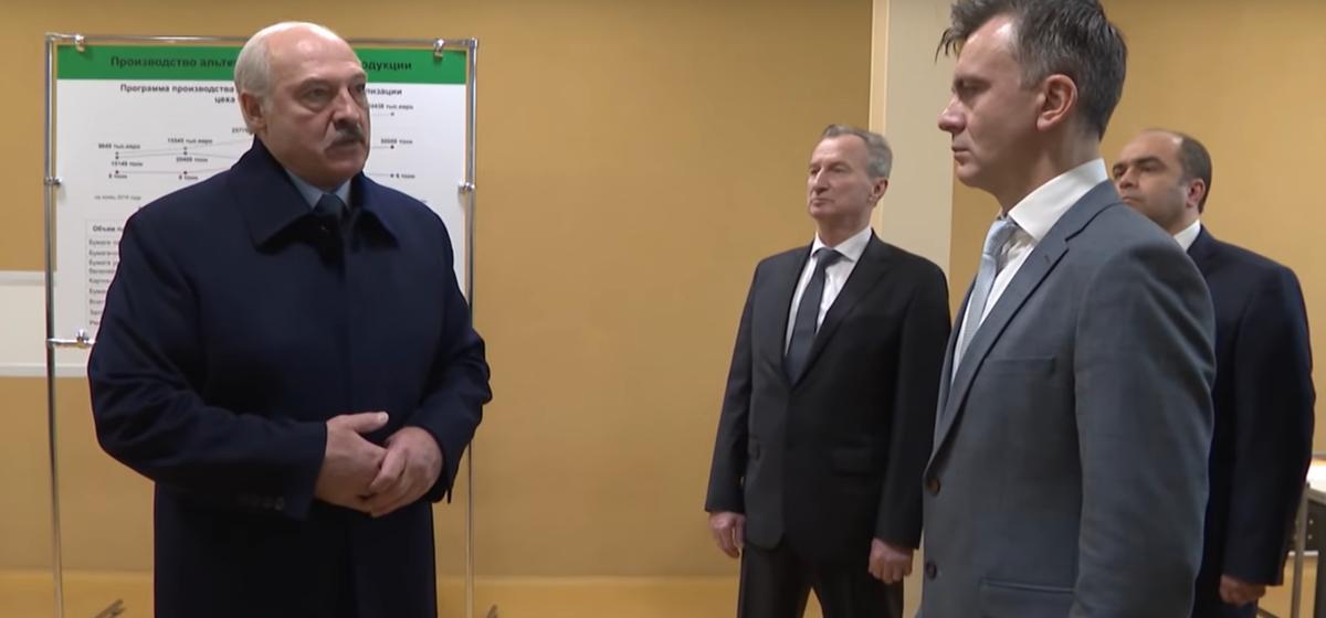 Лукашенко: По углеводородам нас раком поставили. Видео