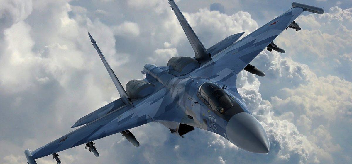 В Алжире разбился истребитель Су-30. Пилот и штурман погибли