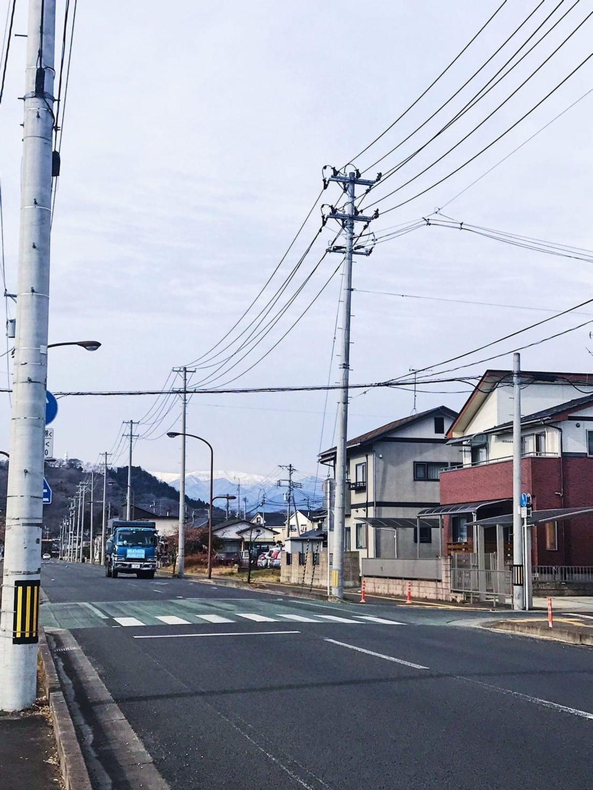 Улица в городе Сибата, Япония. Фото: личный архив Алины СЕВЕЦ
