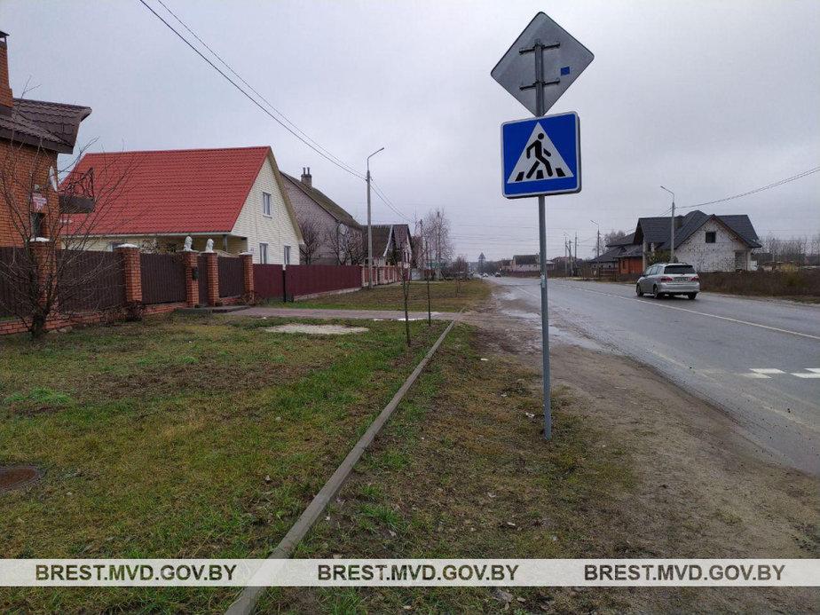 Место происшествия. Фото: МВД Беларуси