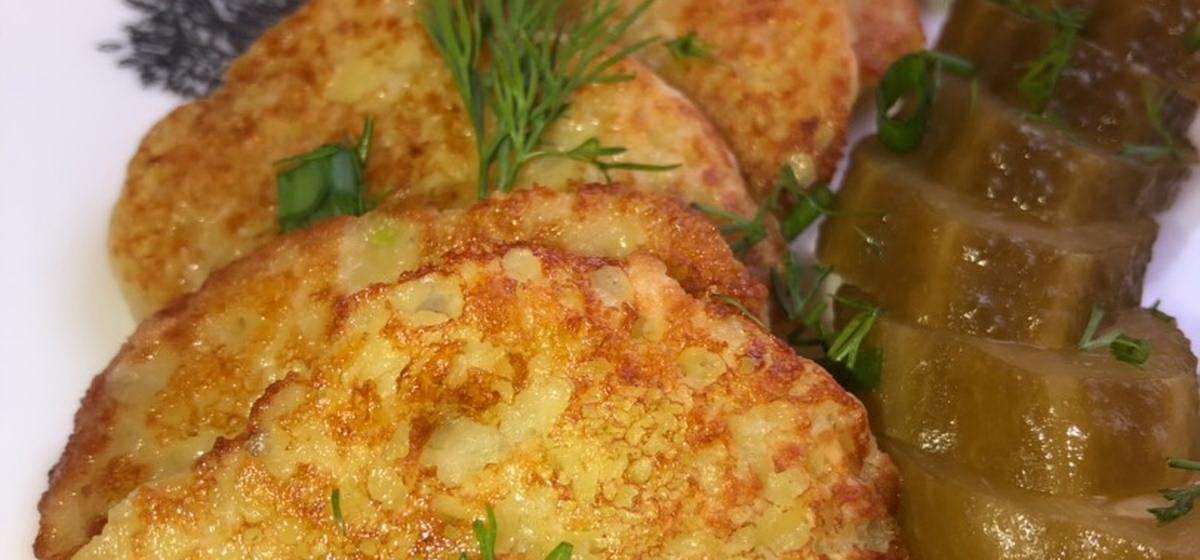 Вкусно и просто. Старый деревенский рецепт картофельных блинов