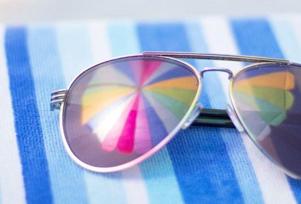 Солнечные очки всегда актуальны