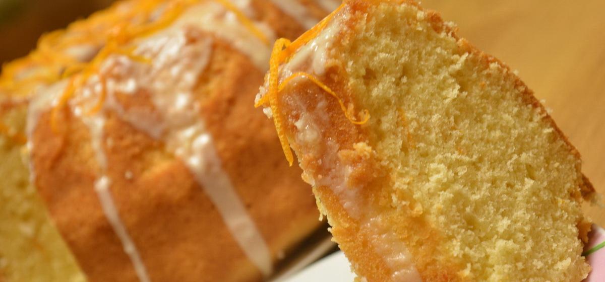 Вкусно и просто. Апельсиновый кекс под сладким соусом