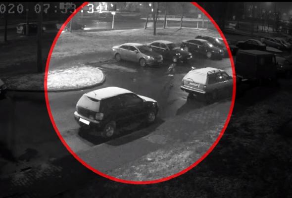 Житель Могилева заявил о пропаже «Ауди». Угонщиком оказался его 9-летний сын, который поехал на машине в школу