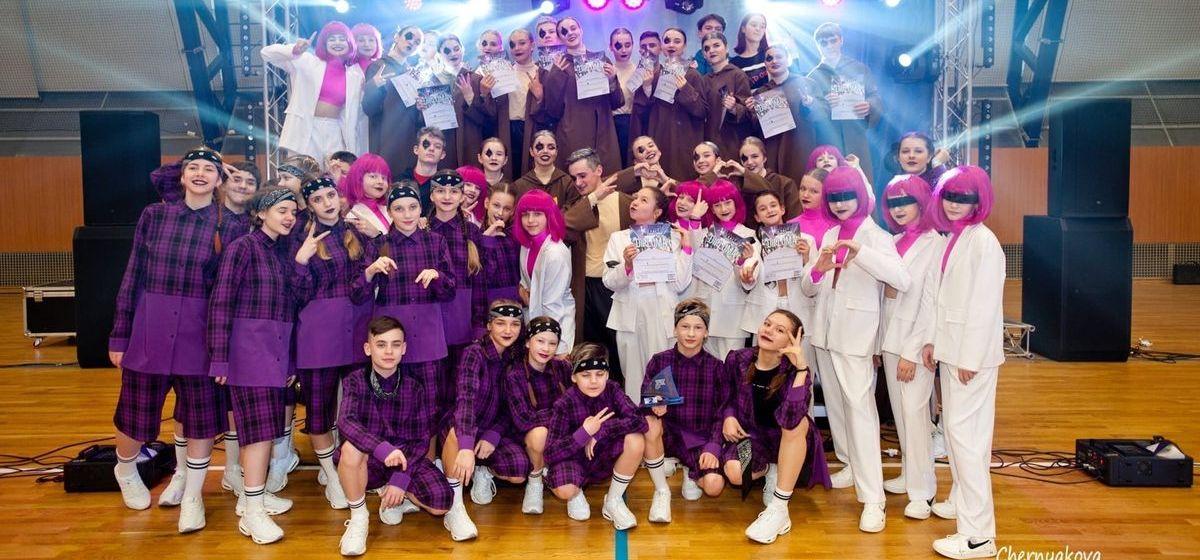 Пять первых мест привезли барановичские танцоры с международного фестиваля в Минске. Видео