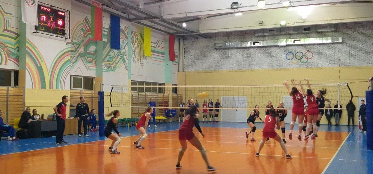 Как волейболистки «Атланта-БарГУ» сыграли в первом матче 2020 года