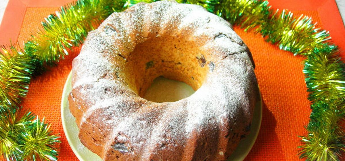 Вкусно и просто. Имбирный кекс с изюмом и цукатами