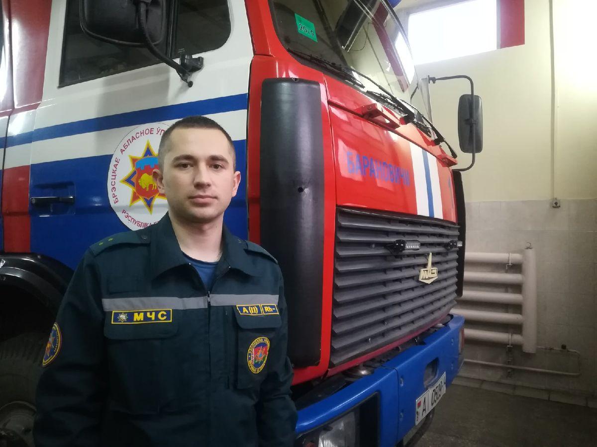 Александр Жук, МЧС