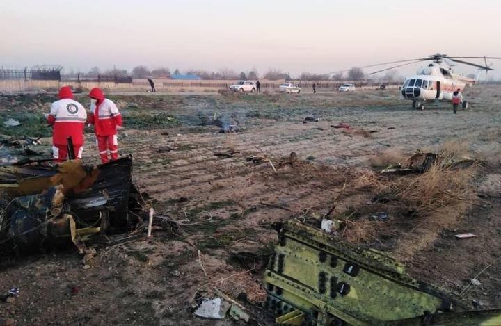 Украинский самолет со 170 пассажирами на борту разбился в Иране. Видео