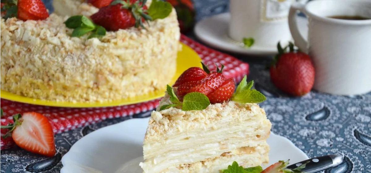 Вкусно и просто. Торт «Наполеон» с заварным кремом