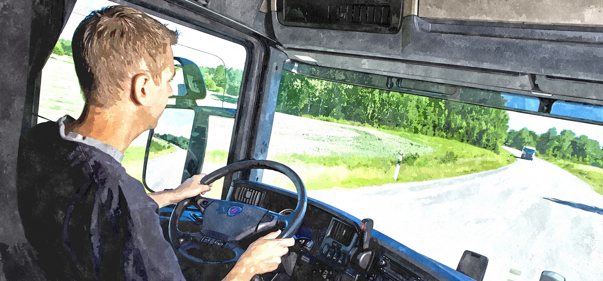Водителю большегруза из Беларуси грозит до двух лет лишения свободы за пьяную езду в Польше