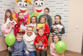 Финалистам конкурса детского рисунка «Поздравляем Intex-press!» вручили подарки