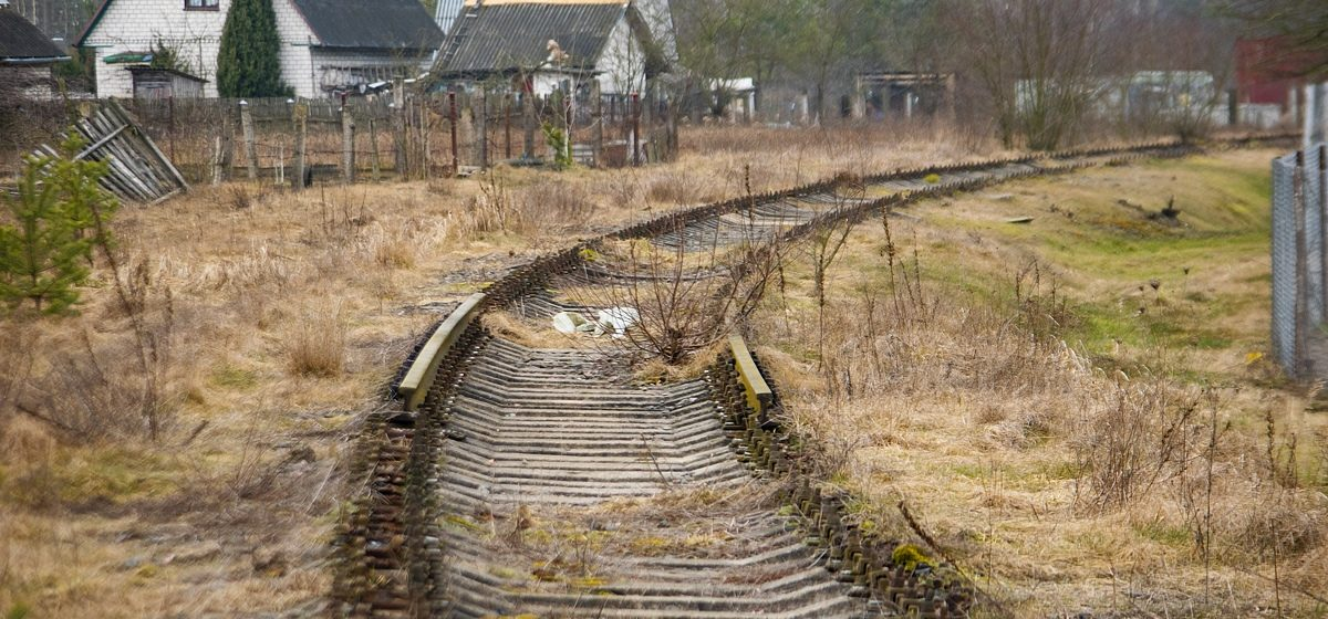 В Барановичах украли 774 метра рельсов
