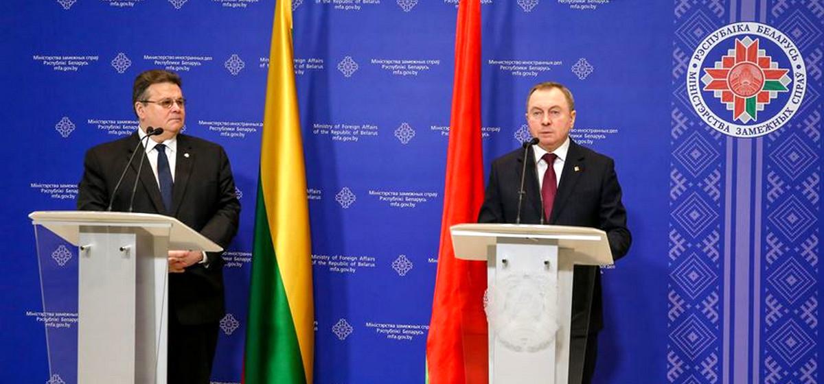 Литва предлагает наладить регулярные поставки нефти и газа в Беларусь через свою инфраструктуру