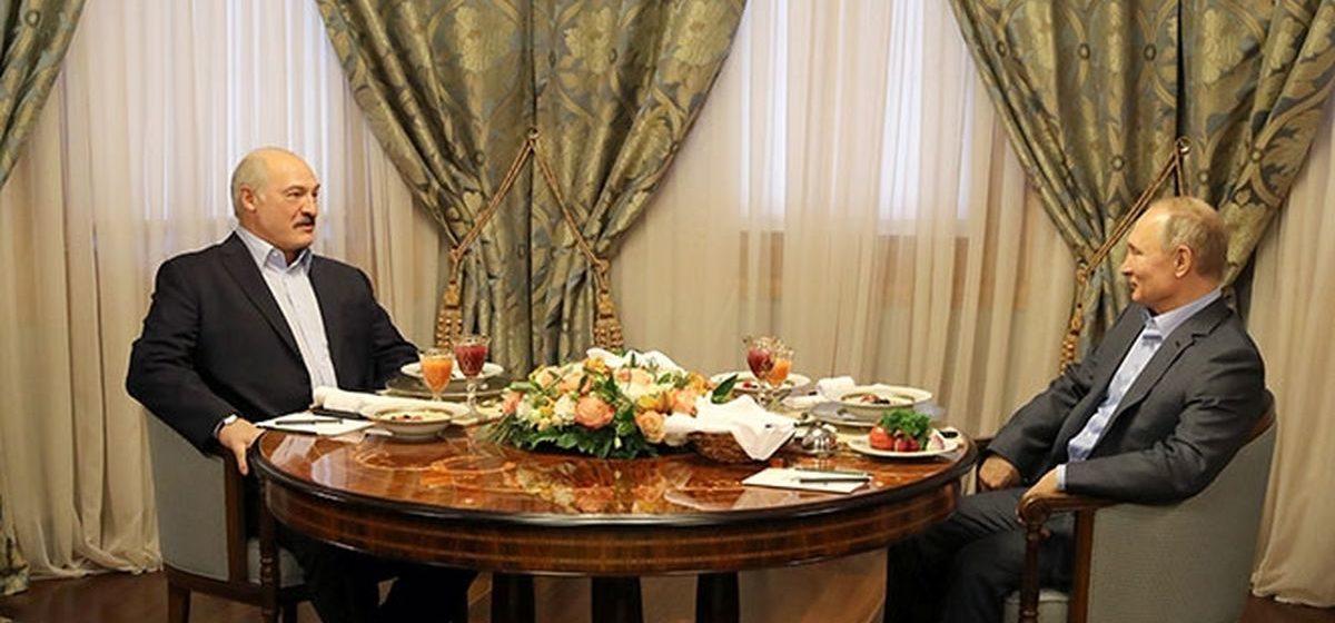 Лукашенко о переговорах с Путиным: о многом поговорили, дошли «до глубины седых времен»