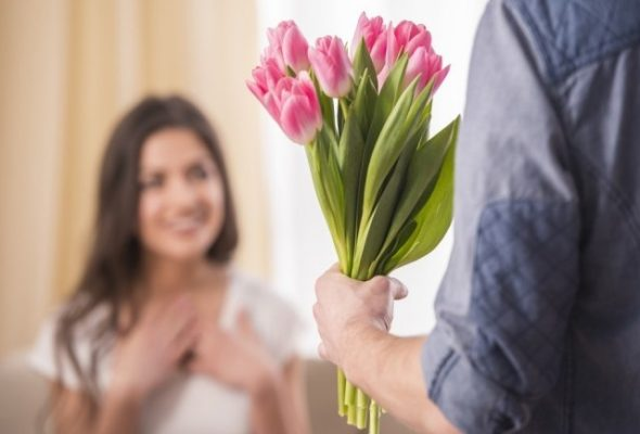 Заказ и доставка цветов на 8 марта